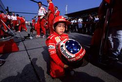 Michael Schumacher szurkoló, Ferrari