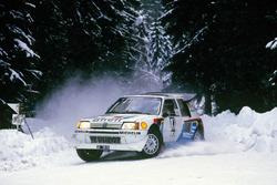 Юха Канккунен и Юха Пииронен, Peugeot 205 T16 E2