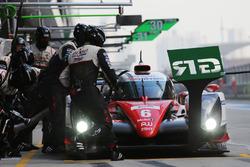#6 Toyota Racing Toyota TS050 Hybrid: Stéphane Sarrazin, Mike Conway, Kamui Kobayashi in the pits