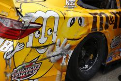 Auto chocado de Kyle Busch, Joe Gibbs Racing Toyota