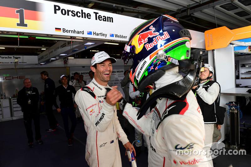 #1 Porsche Team Porsche 919 Hybrid: Марк Уэббер, Брендон Хартли - обладатели поула