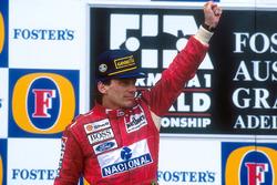 Podium: 1. Ayrton Senna, McLaren