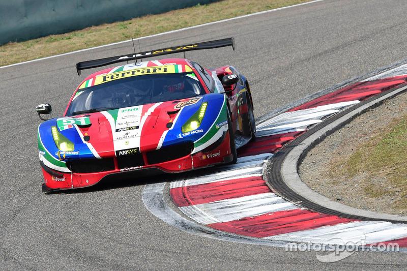 #51 AF Corse, Ferrari 488 GTE: Gianmaria Bruni, James Calado