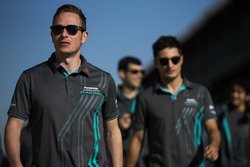 Adam Carroll, Jaguar Racing and Mitch Evans, Jaguar Racing