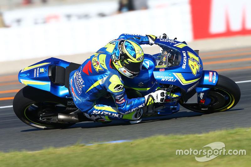 9: Алейш Еспаргаро, Team Suzuki Ecstar MotoGP