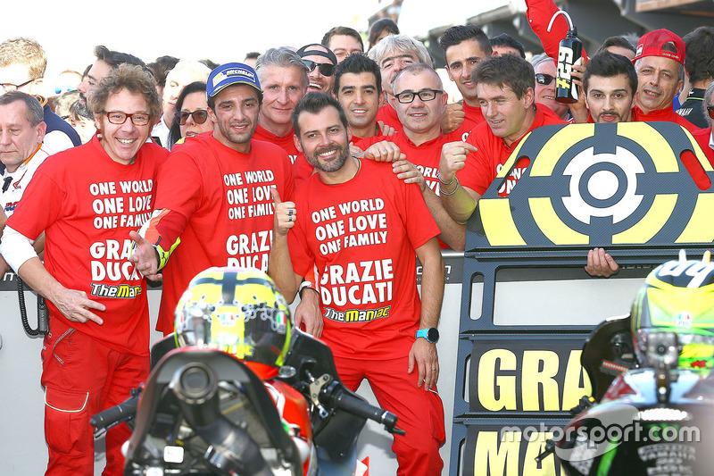 Tercero, Andrea Iannone, Ducati Team