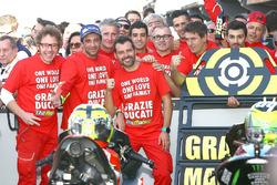 Le troisième, Andrea Iannone, Ducati Team