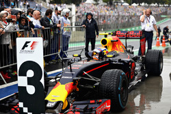 Max Verstappen, Red Bull Racing RB12 viert de derde plaats