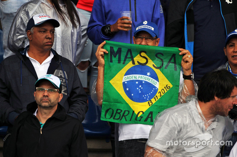 Un fan de Felipe Massa, Williams