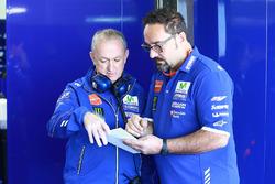 Ramon Forcada, Yamaha Factory Racing; Mark Elder, Yamaha Factory Racing