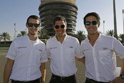 Marcel Fassler, Andre Lotterer, Benoit Tréluyer, Audi Sport Team Joest