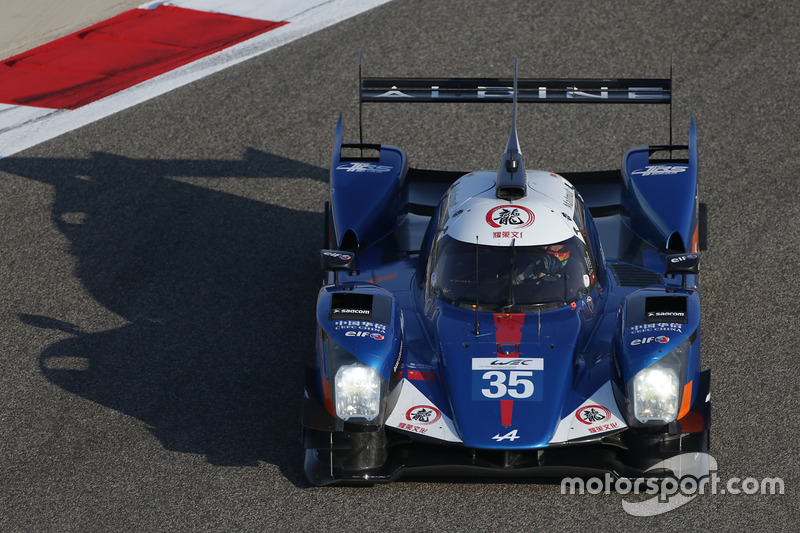 7. LMP2: #35 Baxi DC Racing, Alpine A460 - Nissan: David Cheng, Ho-Pin Tung, Paul-Loup Chatin