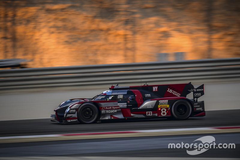 6h Bahrain: #8 Audi R18 e-tron quattro: Lucas di Grassi, Loic Duval, Oliver Jarvis