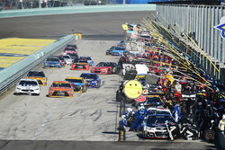 Arrêt pour Kevin Harvick, Stewart-Haas Racing Chevrolet