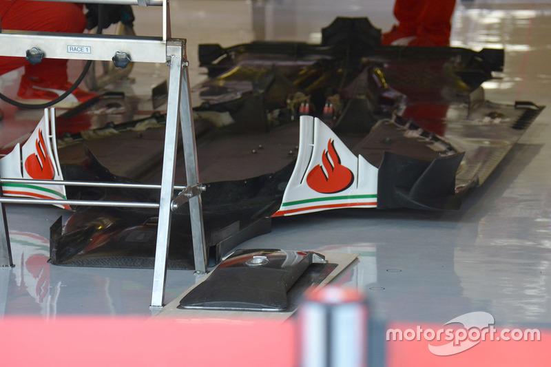 Ferrari SF16-H: Unterboden