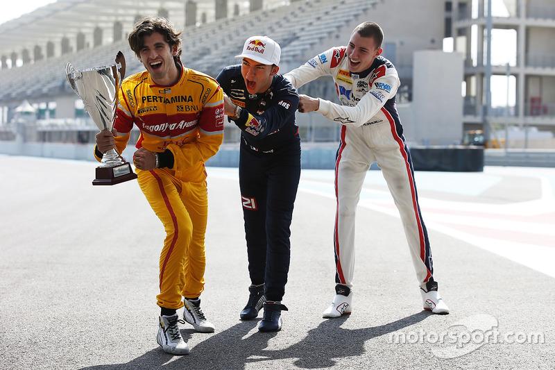 Antonio Giovinazzi, PREMA Racing, Pierre Gasly, PREMA Racing & Raffaele Marciello, RUSSIAN TIME