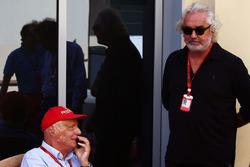 Niki Lauda, Mercedes Presidente no ejecutivo con Flavio Briatore