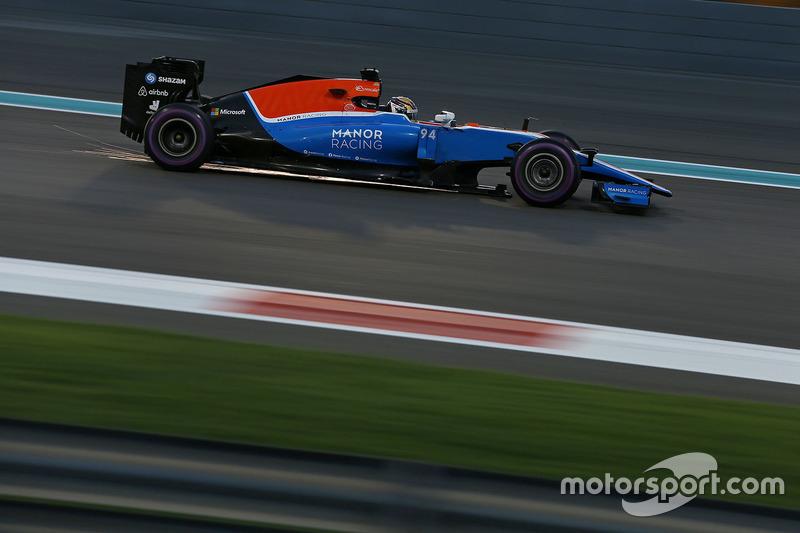 16: Pascal Wehrlein, Manor Racing MRT05