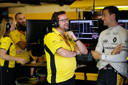 Julien Simon-Chautemps, Renault Sport F1 Team Race Engineer with Jolyon Palmer, Renault Sport F1 Team