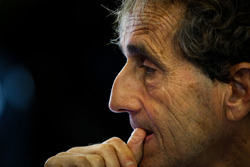 Alain Prost, with the Renault Sport F1 Team