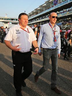 Zak Brown, McLaren Executive Director with Donald Mackenzie, CVC Capital Partners Managing Partner, Co Head of Global Investments