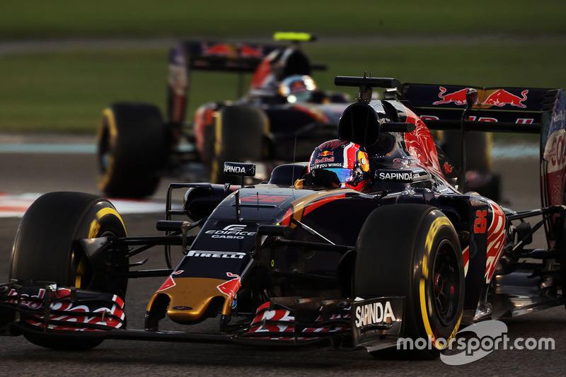 Подвійний схід Toro Rosso