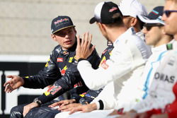 Max Verstappen, Red Bull Racing and Jenson Button, McLaren F1