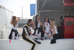 Cooper MacNeil, Ferrari of Beverly Hills with the WeatherTec girls