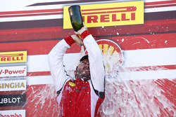 Podium: Race winner Carlos Kauffmann, Ferrari of Fort Lauderdale