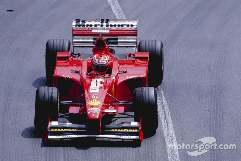1998: Ferrari F300 (шесть побед, 2-е место в КК)