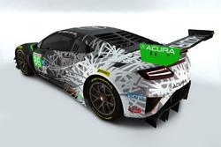 #86 Acura NSX GT3
