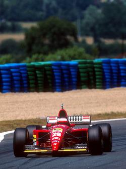 Герхард Бергер, Ferrari 412T2