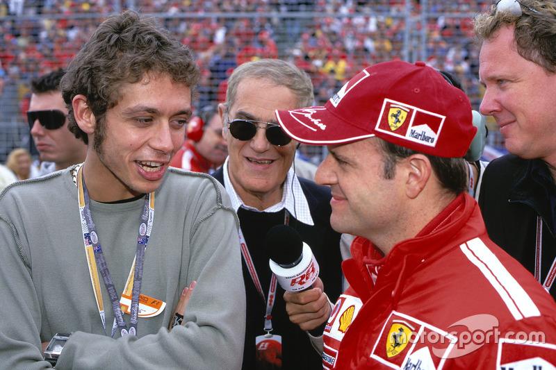 Рубенс Баррікелло, Ferrari і Валентино Россі