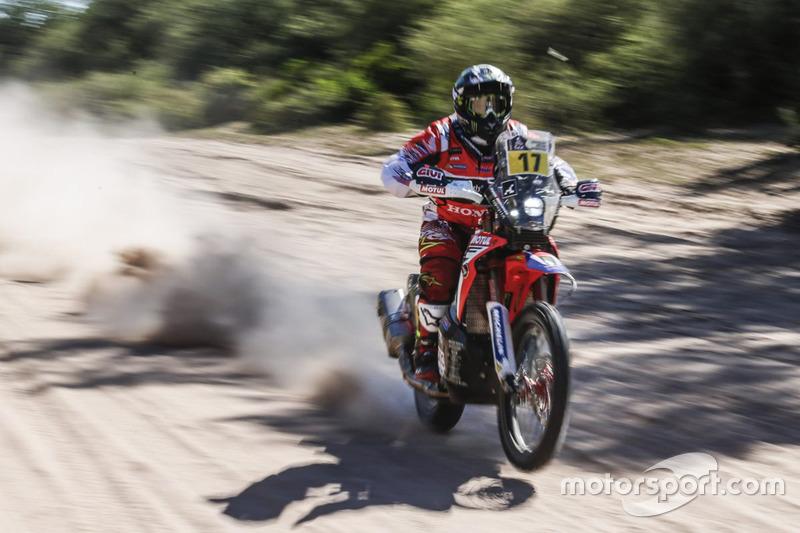 #17 Monster Energy Honda Team: Паоло Гонсалвес
