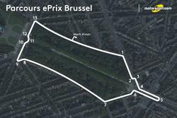 Parcours ePrix de Bruxelles
