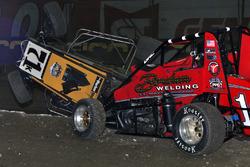 Crash: Kyle Larson und Matt Wesfall