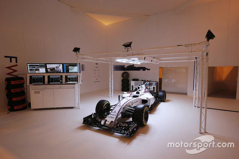 Le stand Williams Martini Racing
