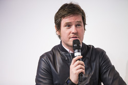 Rob Smedley, Head of Vehicle Performance, Williams Martini Racing, is interviewed on the Autosport Stage
