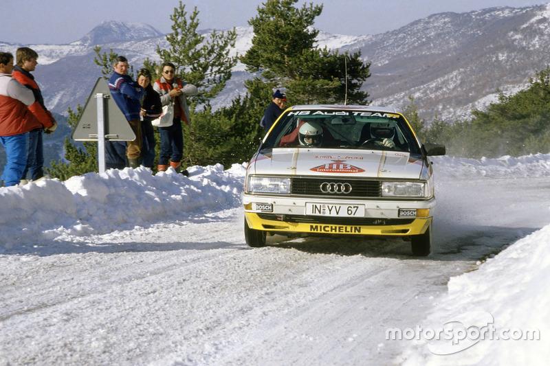 Walter Röhrl, Christian Geistdörfer, Audi 200 Quattro