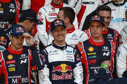 Daniel Sordo, Hyundai Motorsport, Sébastien Ogier, M-Sport, Thierry Neuville, Hyundai Motorsport