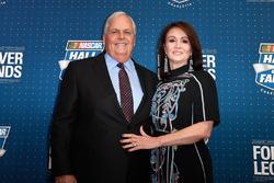 Rick Hendrick mit Ehefrau Linda