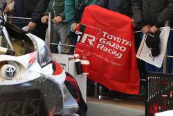Расположение команды Toyota Gazoo Racing WRC