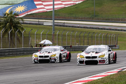 #91 FIST-Team AAI BMW M6 GT3: Jun San Chen, Ollie Millroy, Philipp Eng and #90 FIST-Team AAI BMW M6 GT3: Lam Yu, Akira Iida, Tom Blomqvist
