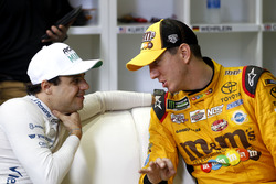 Felipe Massa and Kyle Busch