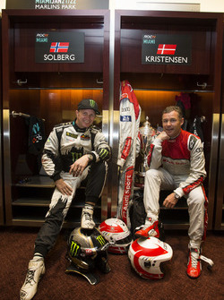 Petter Solberg and Tom Kristensen