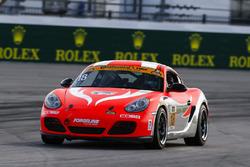 #18 RS1, Porsche Cayman: Aurora Straus, Connor Bloum, Nick Longhi