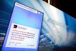 Twitter-Feed für Pressekonferenz