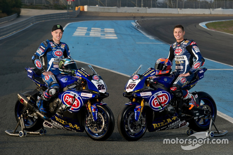 Alex Lowes, Michael van der Mark, Pata Yamaha Racing