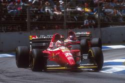 Gerhard Berger, Ferrari F93A vor Jean Alesi, Ferrari F93A
