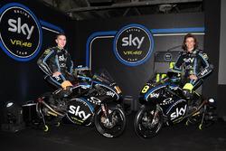 Moto3: Andrea Migno, Sky Racing Team VR46; Nicolo Bulega, Sky Racing Team VR46